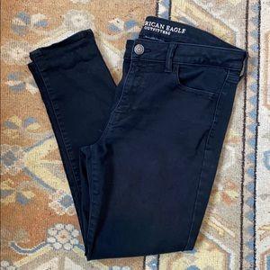 American Eagle Black Skinny Jean/Jegging